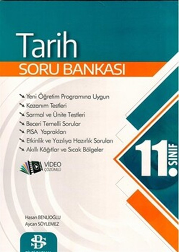 11. Sınıf Tarih Soru Bankası Bilgi Sarmal Yayınları