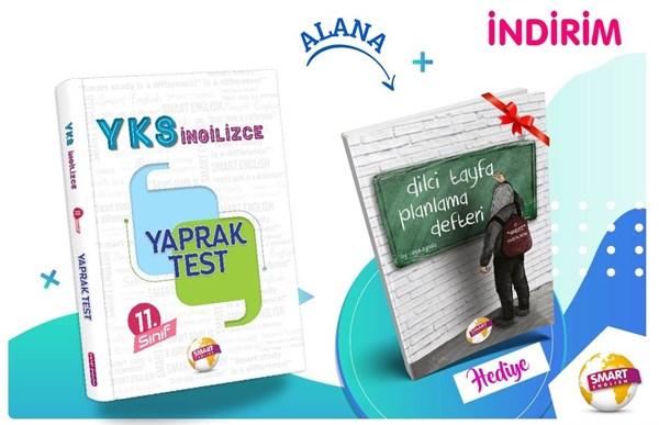 11. Sınıf YKS İngilizce Yaprak Test Smart English