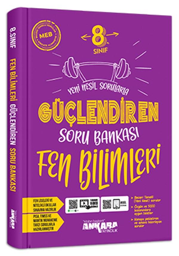 Ankara Yayıncılık 8. Sınıf Fen Bilimleri Güçlendiren Soru Bankası