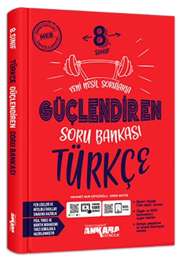 Ankara Yayıncılık 8. Sınıf Güçlendiren Türkçe Soru Bankası