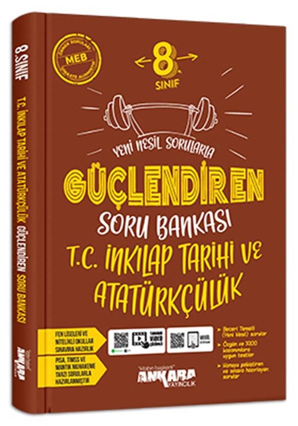 Ankara Yayıncılık 8. Sınıf İnkılap Tarihi Güçlendiren Soru Bankası