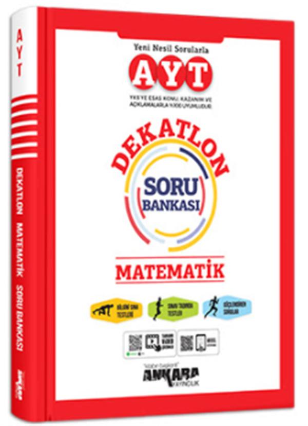 Ankara Yayıncılık AYT Matematik Dekatlon Soru Bankası