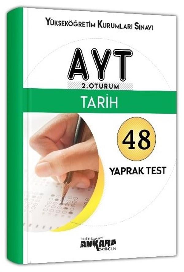 Ankara Yayıncılık AYT Tarih 48 Yaprak Test