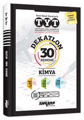 Ankara Yayıncılık TYT Dekatlon Kimya 30 Deneme