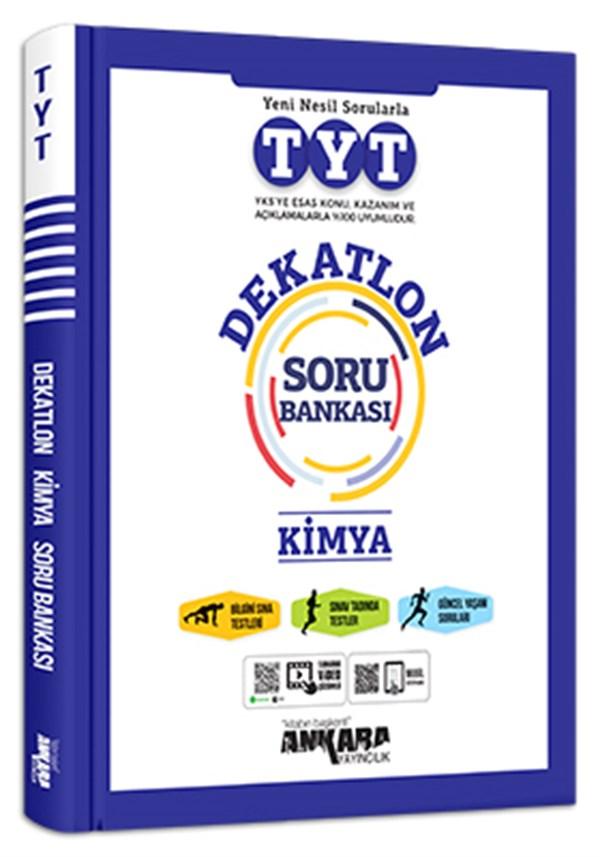 Ankara Yayıncılık TYT Kimya Dekatlon Soru Bankası