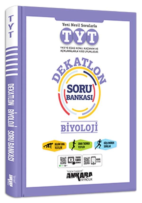 Ankara Yayıncılık Tyt Dekatlon Biyoloji Soru Bankası