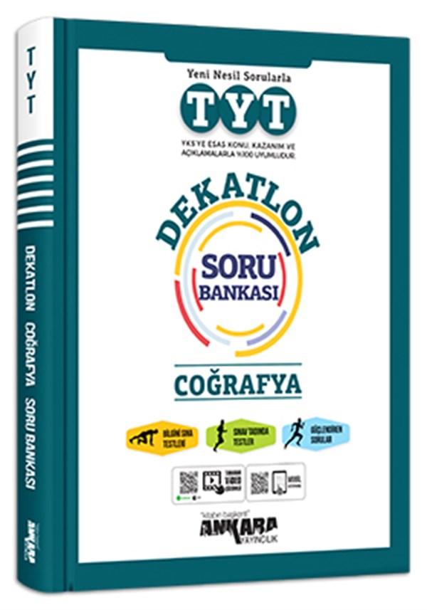Ankara Yayıncılık Tyt Dekatlon Coğrafya Soru Bankası