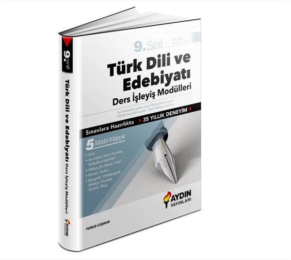 Aydın Yayınları 9. Sınıf Türk Dili ve Edebiyatı Ders İşleyiş Modülleri
