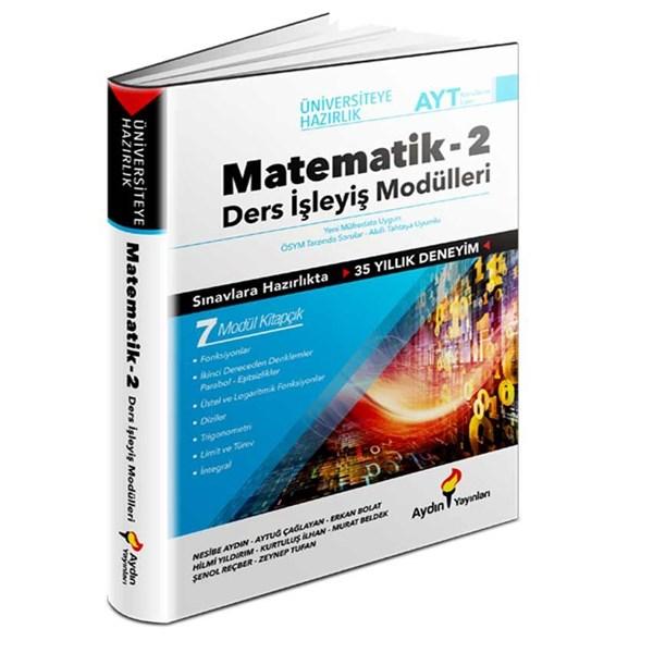 Aydın Yayınları AYT Matematik Ders İşleyiş Modülleri 2. Kitap