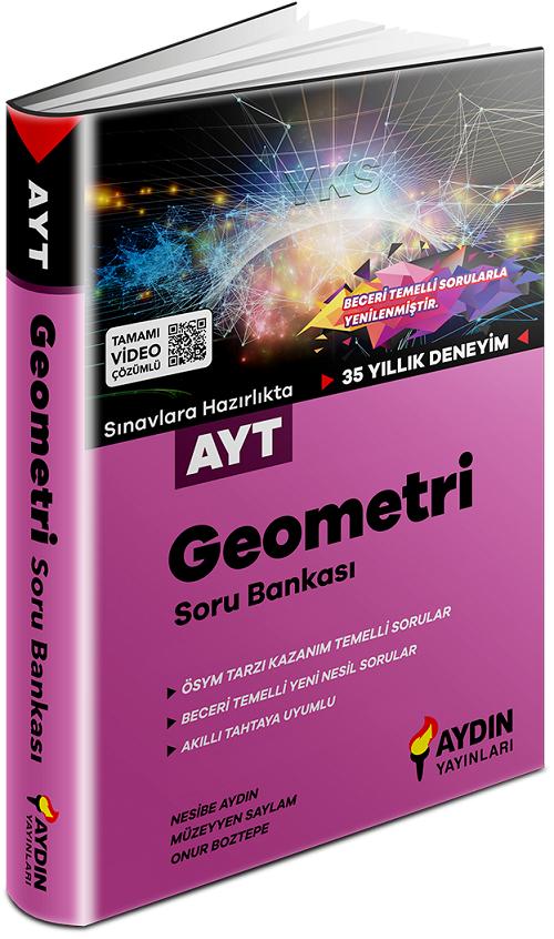 Aydın Yayınları YKS AYT Geometri Soru Bankası