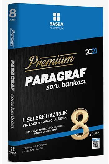 Başka Yayıncılık 8. Sınıf Paragraf Premium Soru Bankası