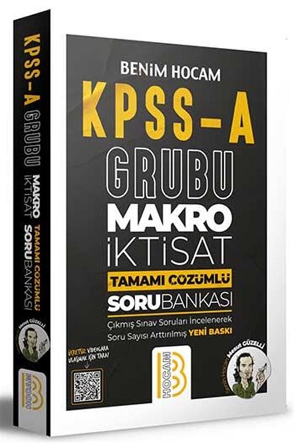 Benim Hocam Yayınları KPSS A Grubu Makro İktisat Tamamı Çözümlü Bankası