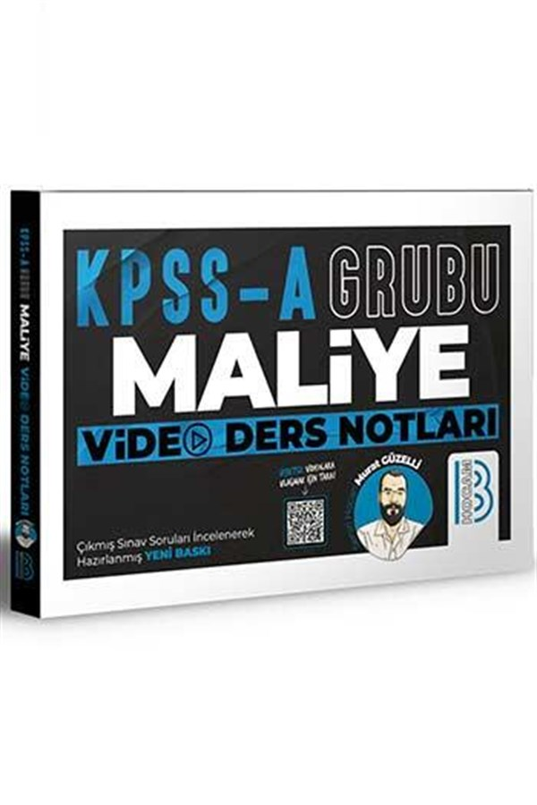 Benim Hocam Yayınları KPSS A Grubu Maliye Video Ders Notları