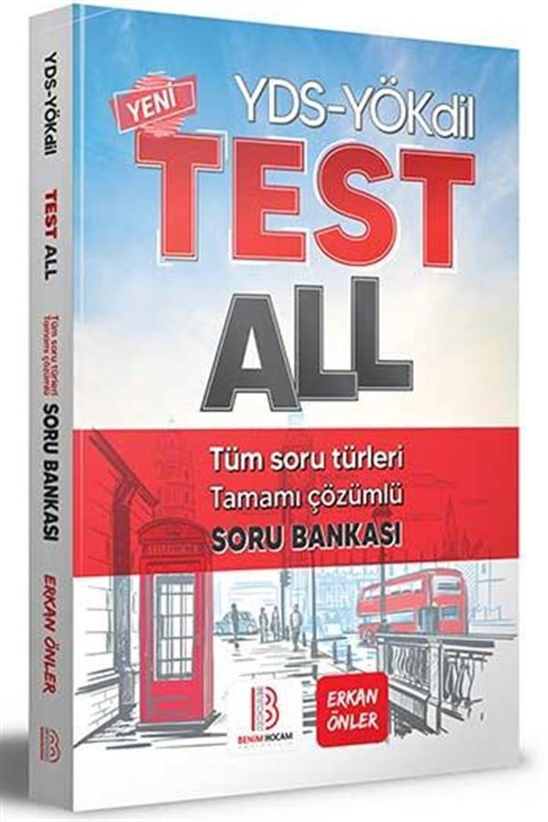 Benim Hocam Yayınları YÖKDİL YDS Test All Tüm Soru Türleri Çözümlü Soru Bankası