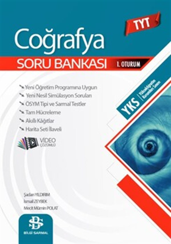 Bilgi Sarmal Yayınları TYT Coğrafya Soru Bankası