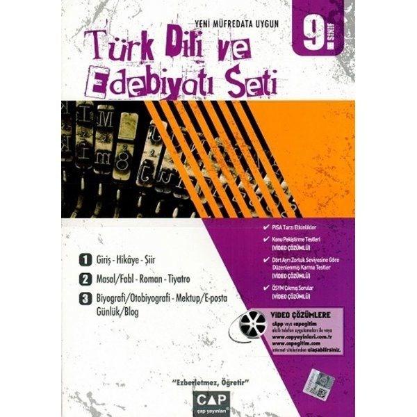 Çap 9. Sınıf Türk Dili ve Edebiyatı Seti