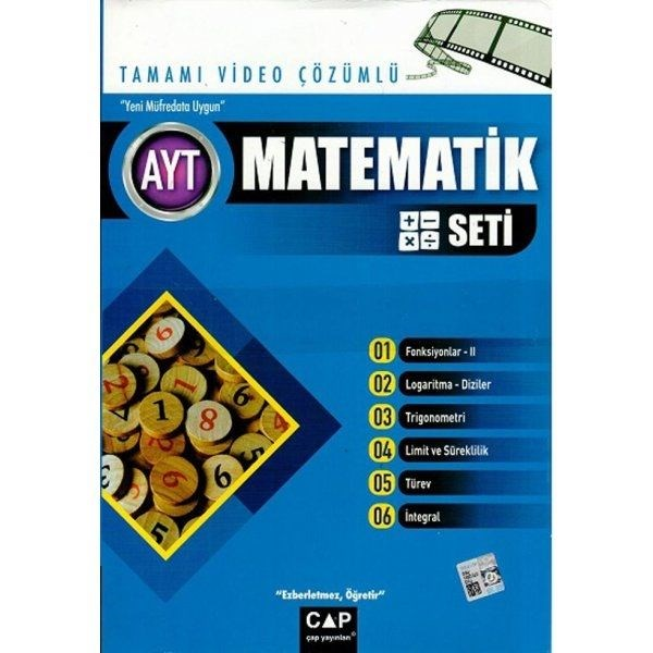 Çap AYT Matematik Seti Tamamı Video Çözümlü