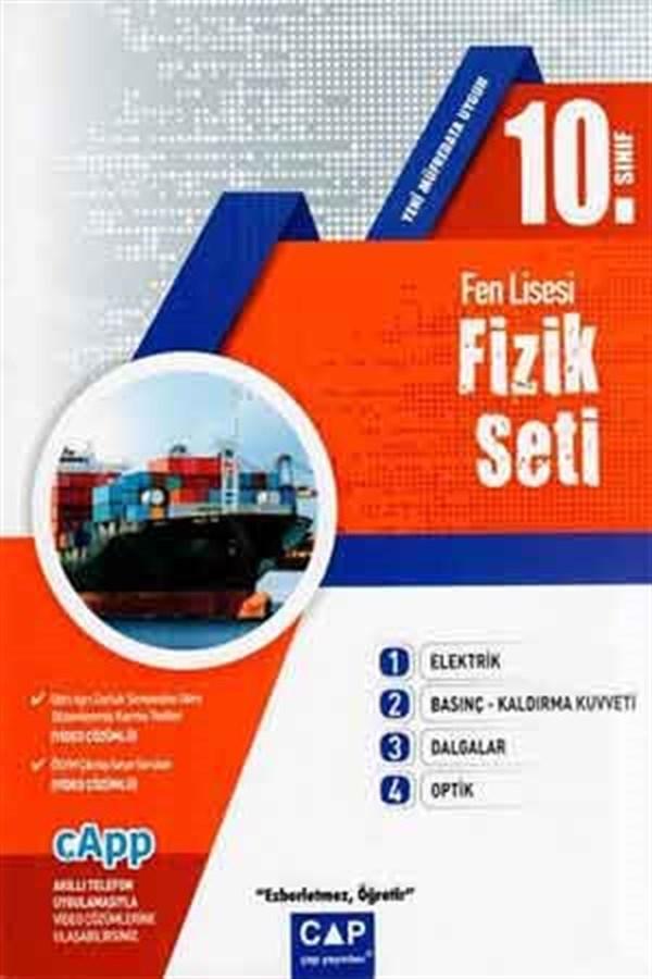 Çap Yayınları 10. Sınıf Fen Lisesi Fizik Seti