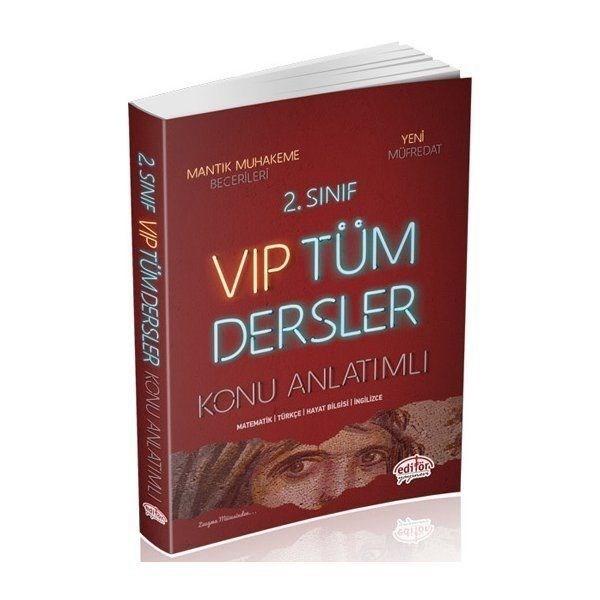 Editör Yayınları 2. Sınıf VIP Tüm Dersler Konu Anlatımlı