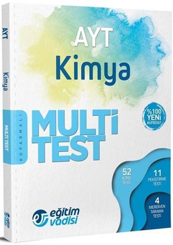 Eğitim Vadisi Yayınları AYT Kimya Multi Test