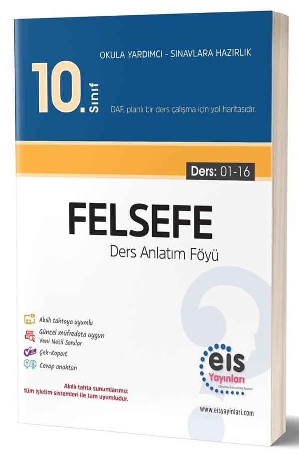 Eis Yayınları 10. Sınıf Felsefe Ders Anlatım Föyü