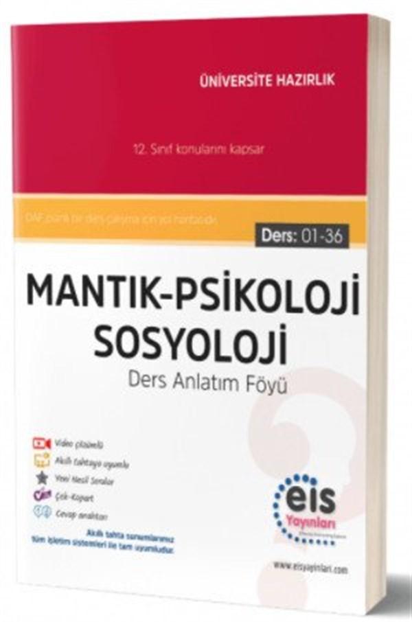 Eis Yayınları YKS Mantık Psikoloji Sosyoloji Ders Anlatım Föyü