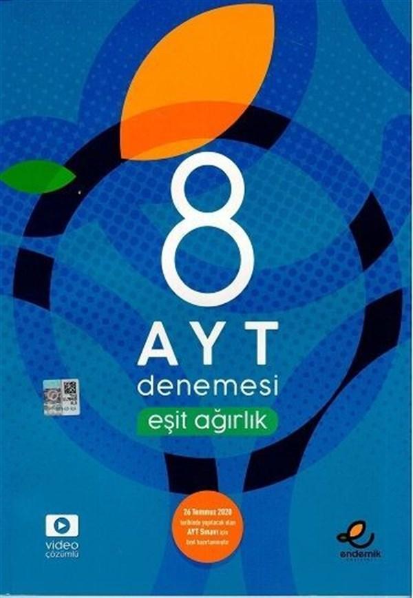 Endemik Yayınları AYT Eşit Ağırlık 8 Özel Denemesi