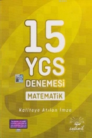 Endemik Yayınları Çözümlü 15 YGS Matematik Denemeleri