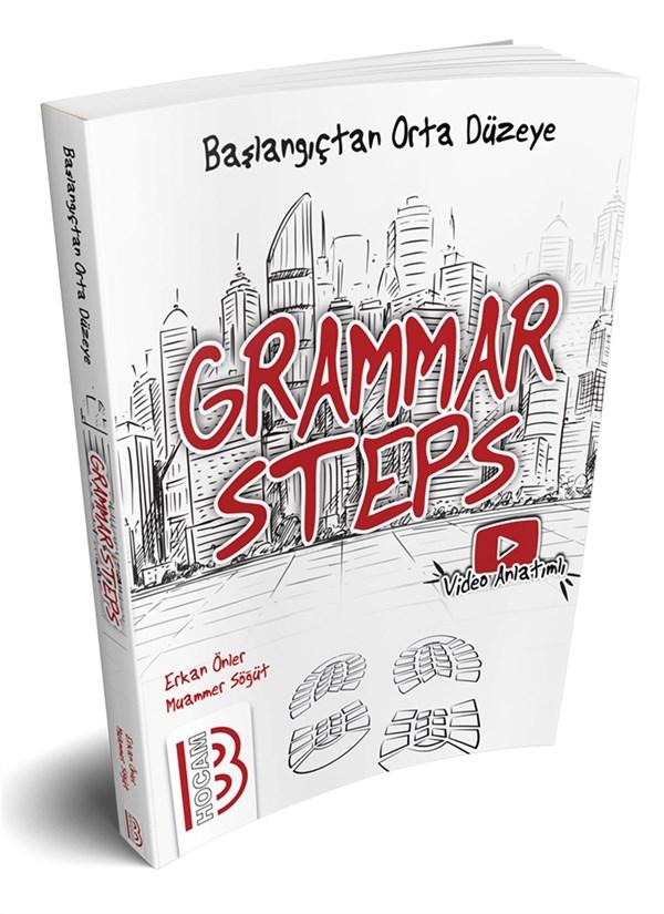 Grammar Steps Başlangıçtan Orta Seviyeye Konu Kitabı Benim Hocam Yayınları