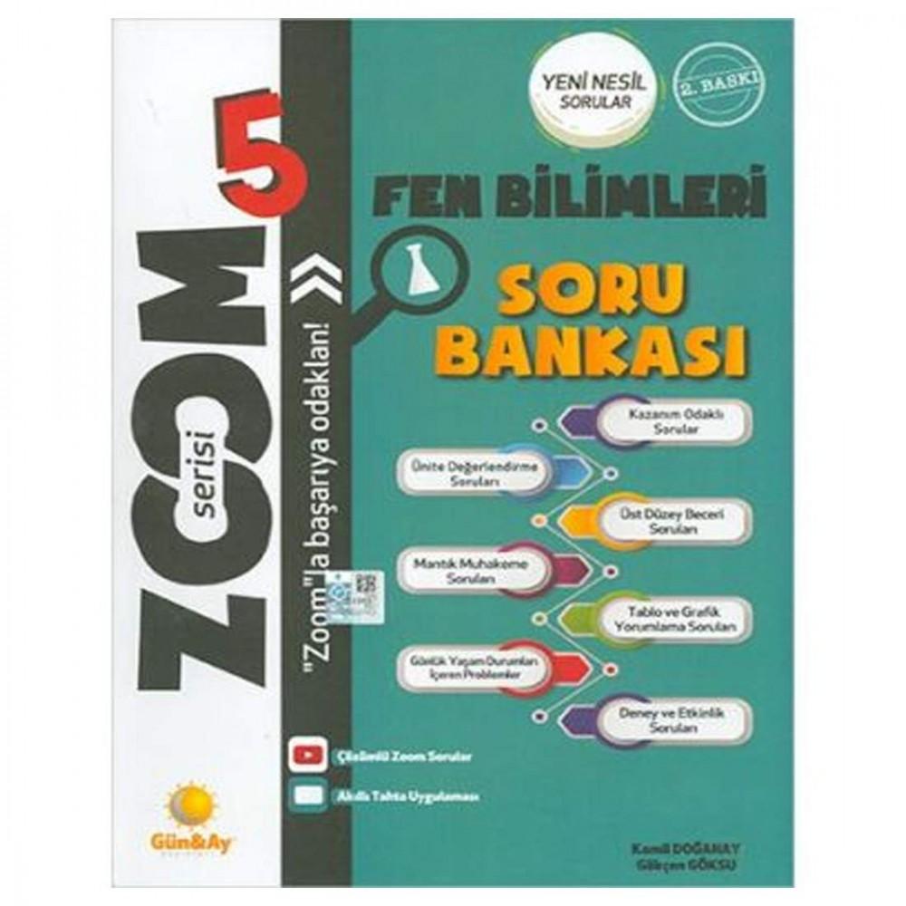 Günay Yayınları 5. Sınıf Fen Bilimleri Zoom Serisi Soru Bankası