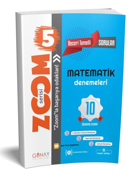Günay Yayınları 5. Sınıf Matematik Zoom 10 Deneme