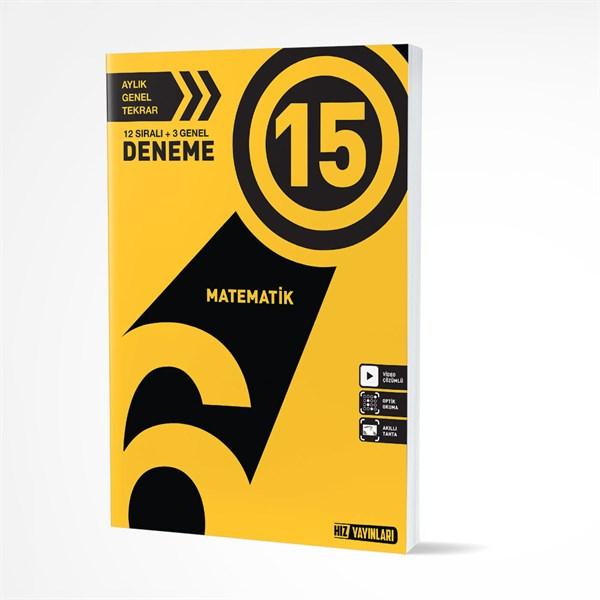 Hız Yayınları 6. Sınıf Matematik 15 Deneme