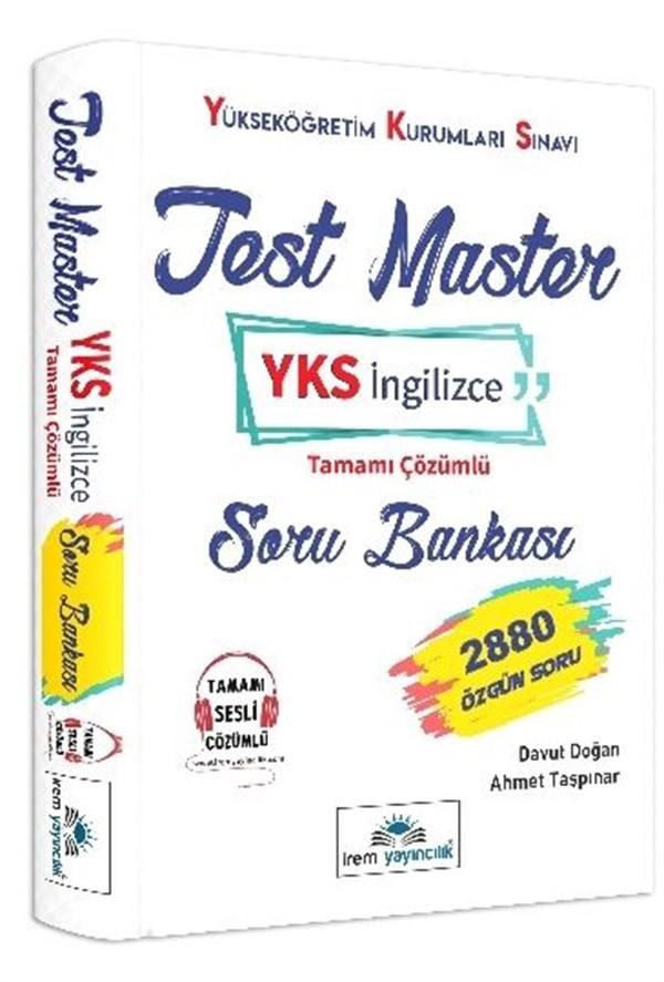 İrem Yayıncılık Test Master YKS İngilizce Tamamı Çözümlü Soru Bankası