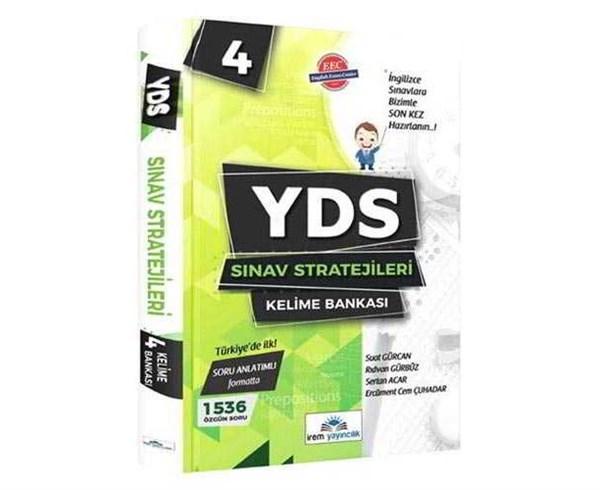 İrem Yayıncılık YDS Sınav Stratejileri 4 Kelime Bankası