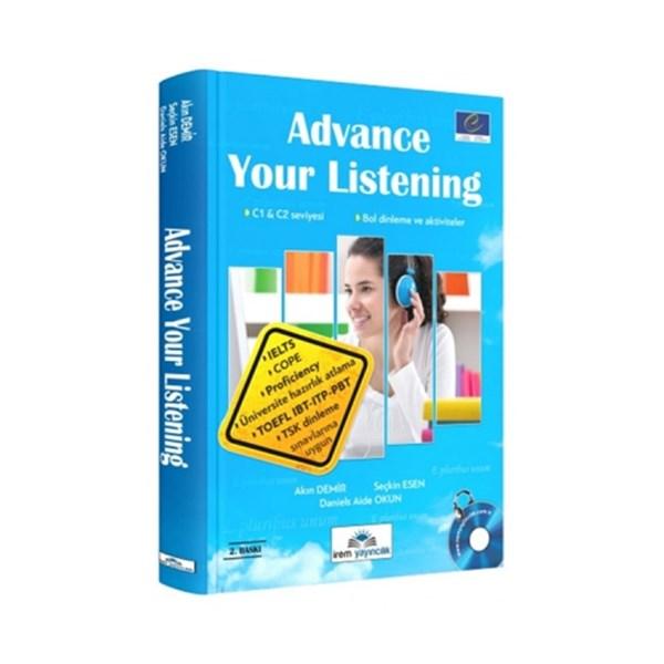 İrem Yayınları Advance Your Listening 2. Baskı