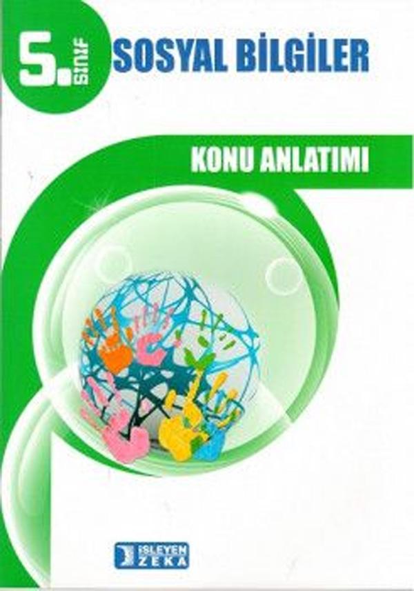 İşleyen Zeka Yayınları 5. Sınıf Sosyal Bilgiler Konu Anlatımlı