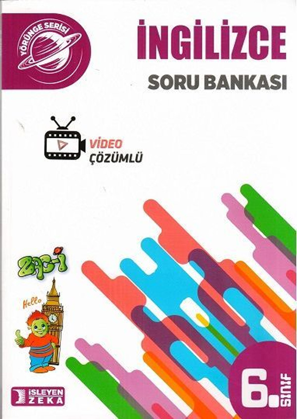 İşleyen Zeka Yayınları 6. Sınıf Yörünge İngilizce Soru Bankası