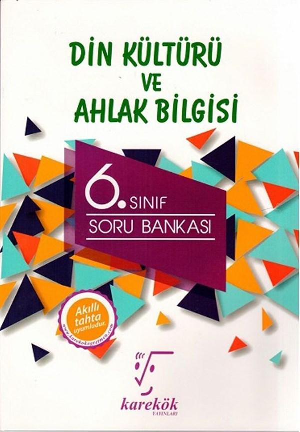 Karekök Yayınları 6. Sınıf Din Kültürü ve Ahlak Bilgisi Soru Bankası