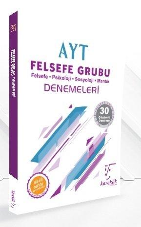 Karekök Yayınları YKS AYT Felsefe Grubu 30 Deneme