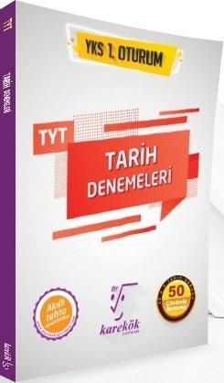 Karekök Yayınları YKS TYT Tarih Çözümlü 50 Deneme