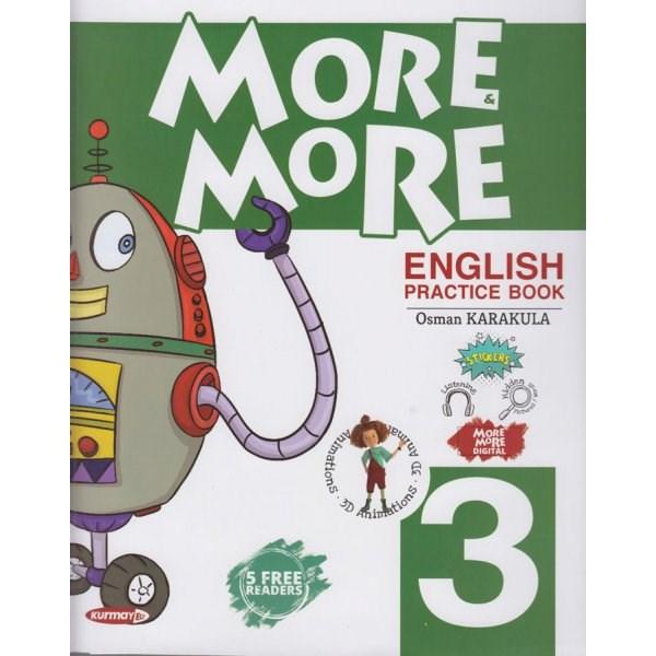 Kurmay ELT 3. Sınıf More More English Practice Book