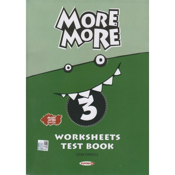 Kurmay ELT New More More English 3 Worksheets Test Book