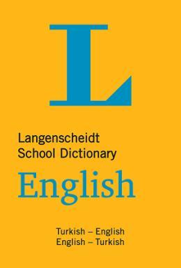 Langenscheidt School Dictionary (Büyük Boy) Okul Sözlüğü İngilizce Türkçe  40.000'den fazla kelime ve deyim