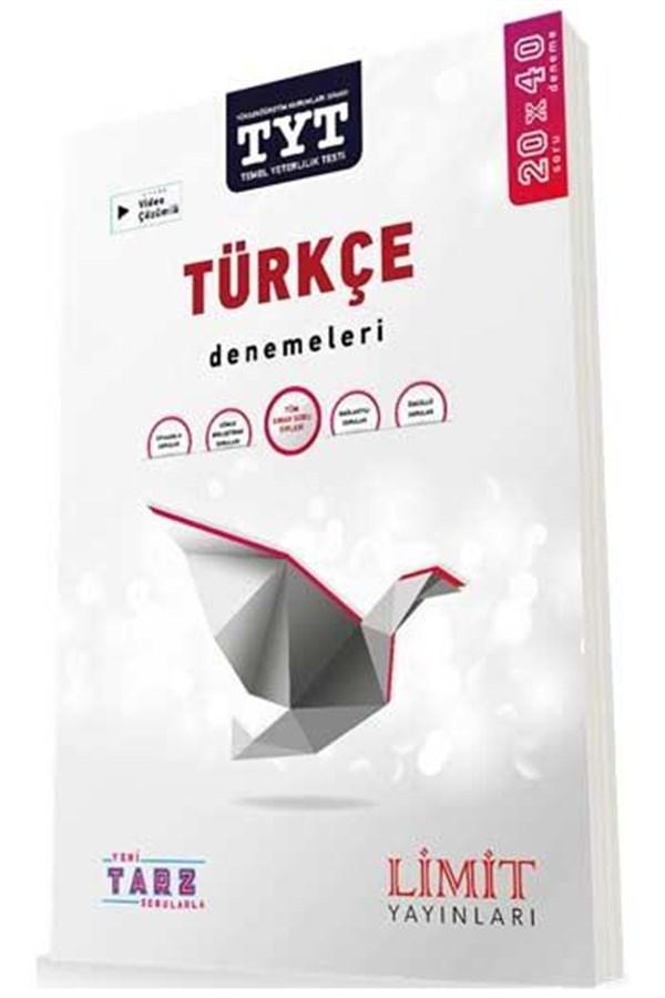 Limit Yayınları TYT Türkçe Yeni Tarz Sorularla 20x40 Denemeleri