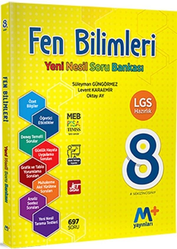 Martı Yayınları 8. Sınıf LGS Fen Bilimleri Yeni Nesil Soru Bankası