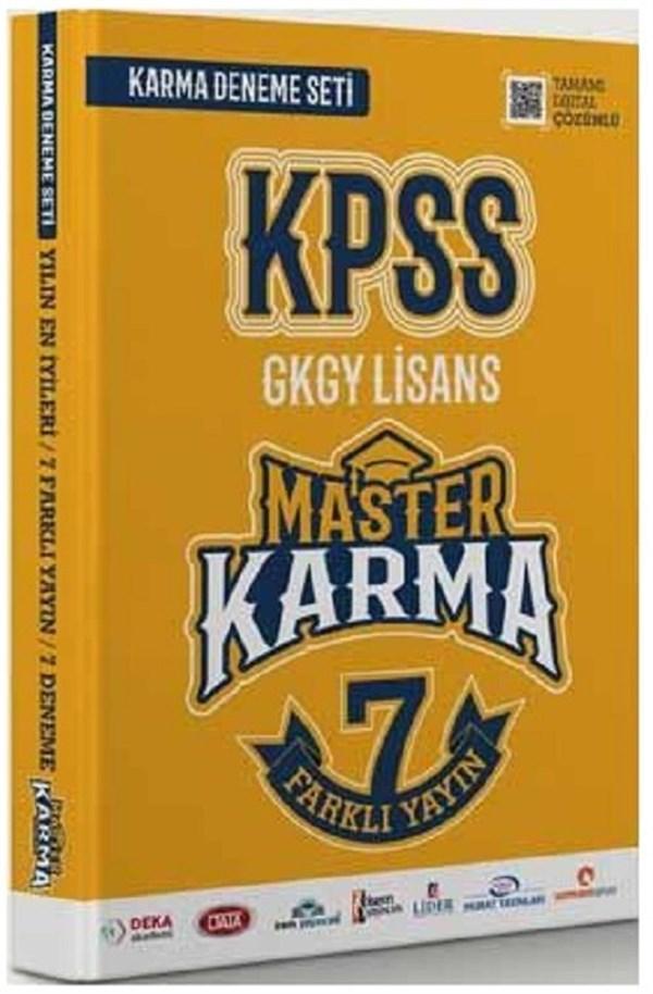 Master Karma Kpss Genel Yetenek Genel Kültür 7 Fasikül Deneme