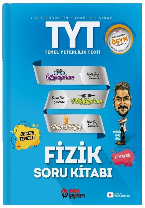Metin Yayınları 2021 TYT Fizik Soru Kitabı