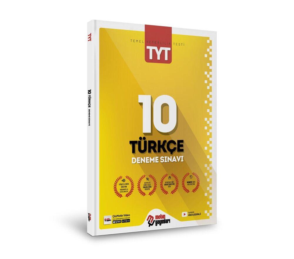 Metin Yayınları TYT Türkçe 10 Deneme