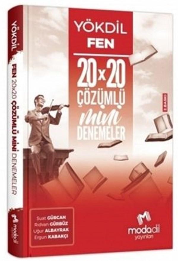 Modadil Yayınları YÖKDİL Fen Bilimleri 20×20 Mini Denemeler