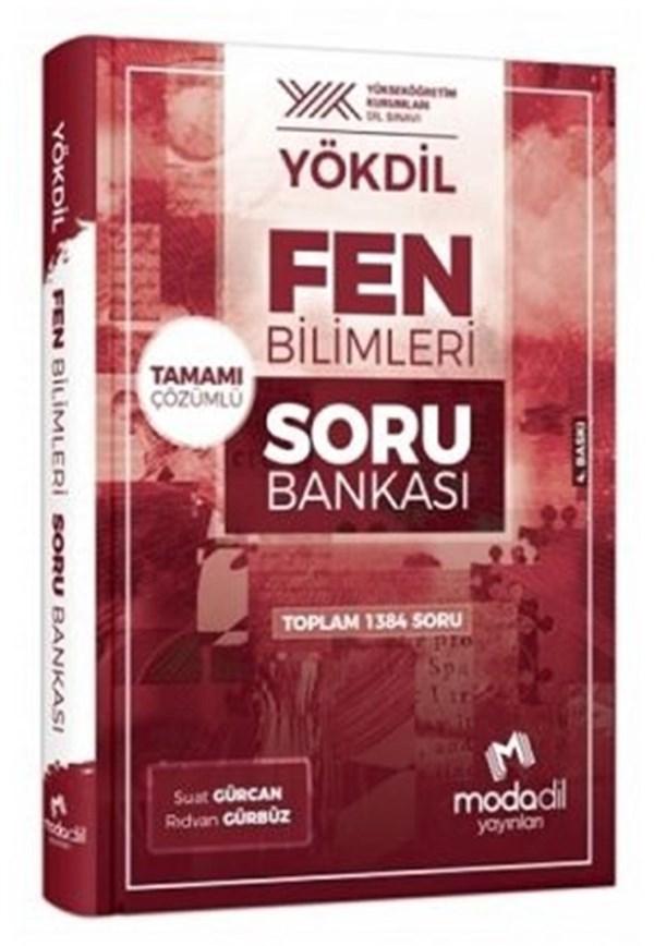 Modadil Yayınları YÖKDİL Fen Bilimleri Soru Bankası